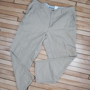 🍄3/45$🍄 Columbia chino cargo hiking casual pants
